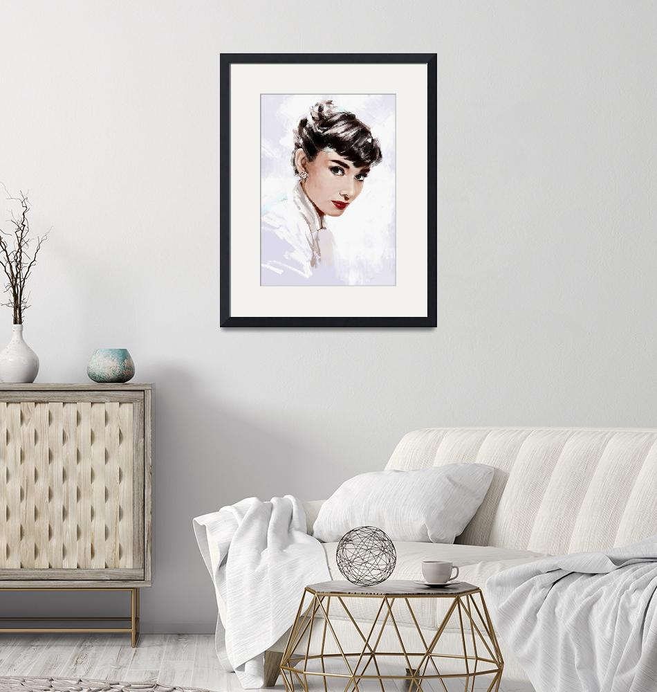 """""""Audrey Hepburn""""  by dmtry"""