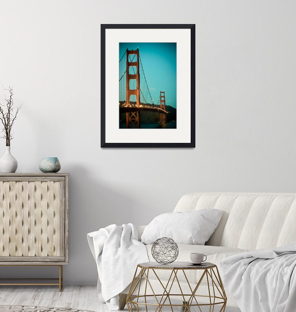 """""""Golden Gate Arches""""  (2009) by chesman"""