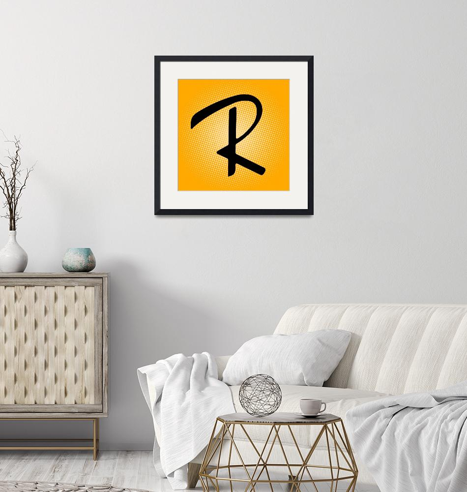 """""""R-RayBan""""  by LetterPopArt"""