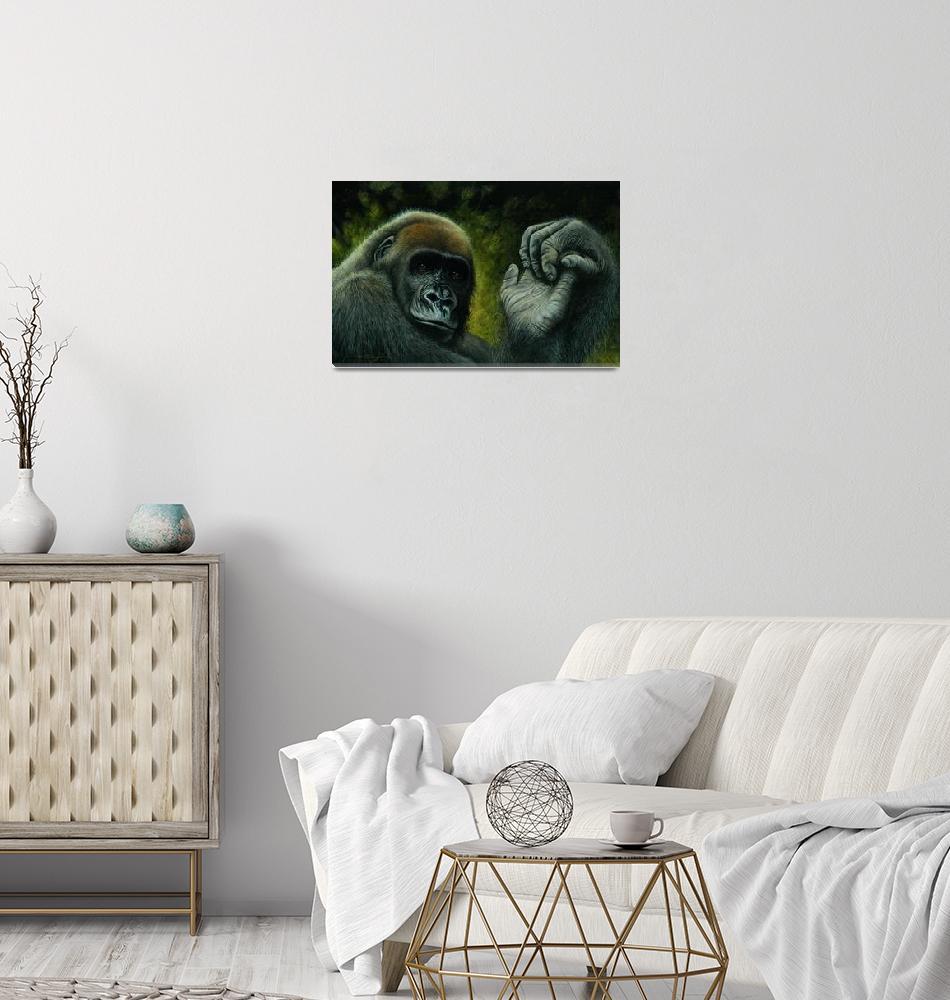 """""""Cross River Gorilla""""  (2008) by danieltaylor"""