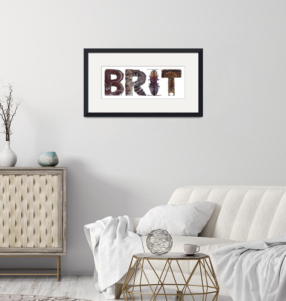 """""""Brit""""  by animalsoup"""
