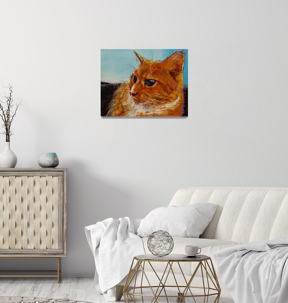 """Orange Tabby Cat""  by creese"