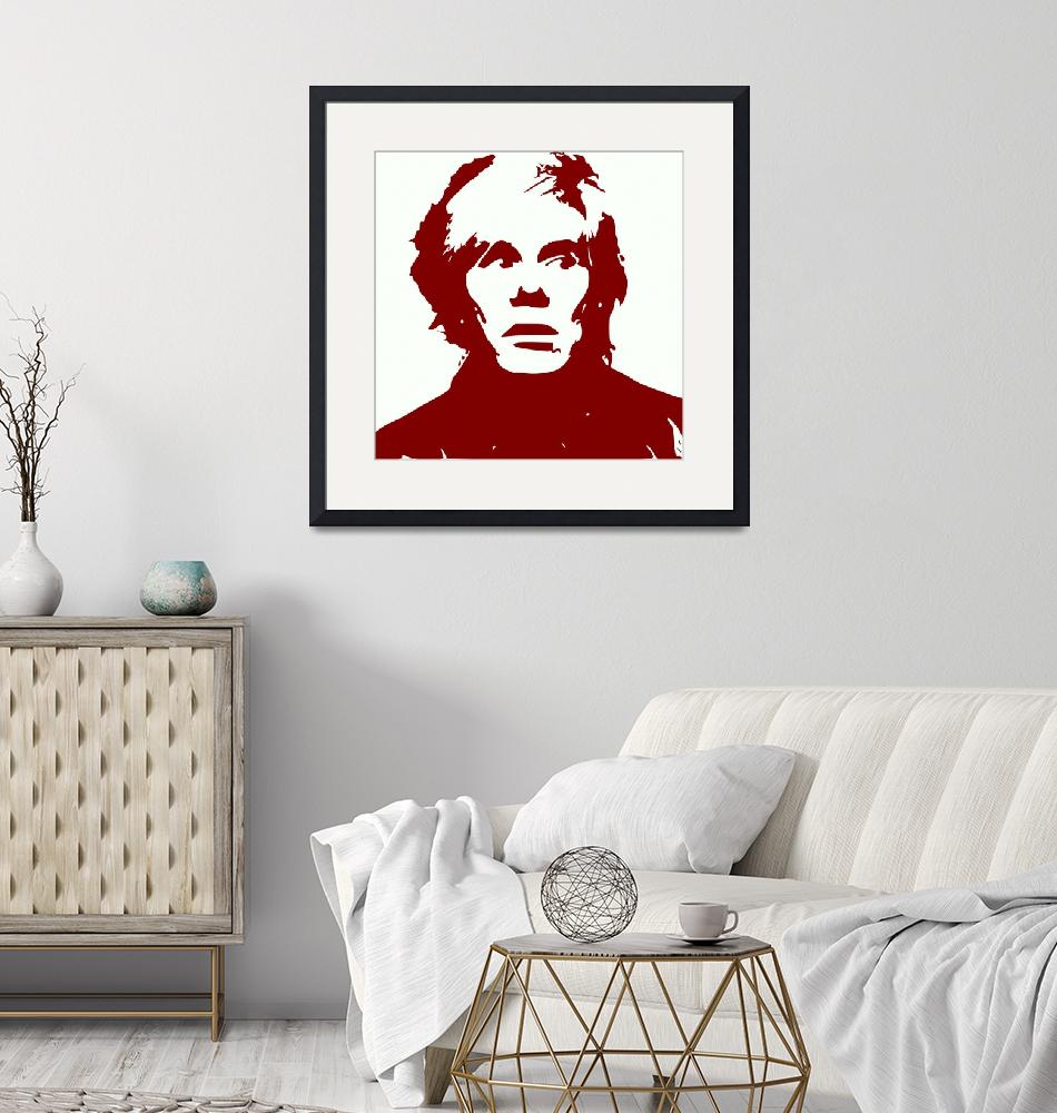 """""""Andy Warhol""""  (2017) by Icarusismart"""