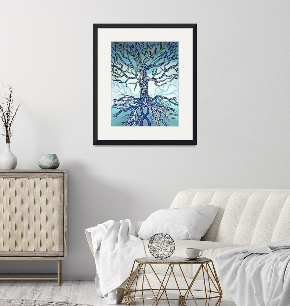 """""""Tree of Life""""  (2007) by LOUISEDIONNE"""