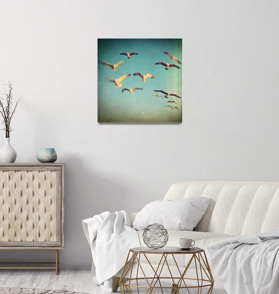 """""""Dans Avec Les Oiseaux""""  (2018) by taylansoyturk"""