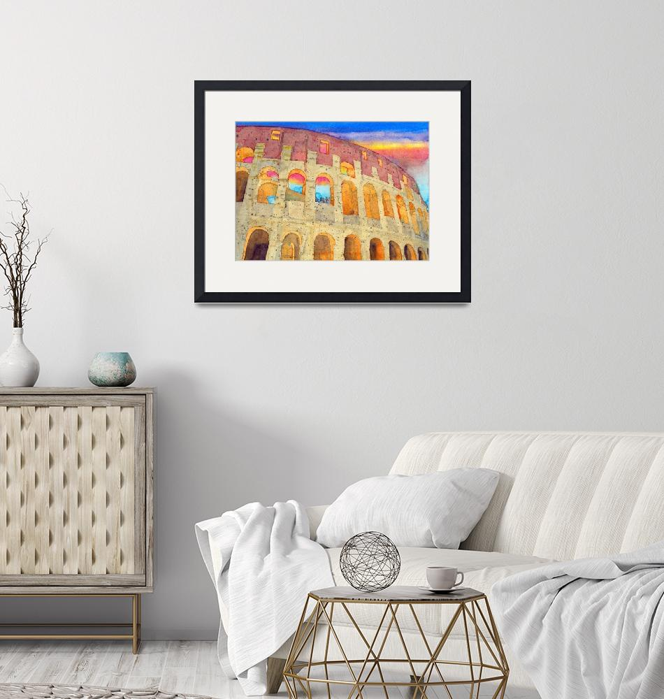 """""""The Colosseum"""" (2018) by ShaSha"""
