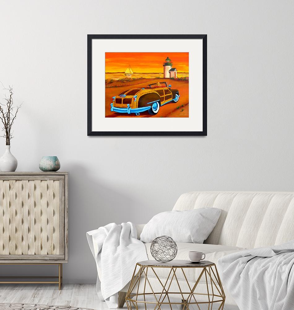"""Sunset Beach""  (2018) by anthonydunphy"