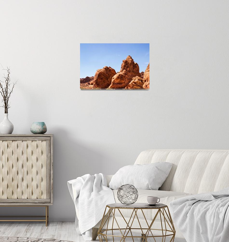 """""""Rock Formation - Valley of Fire""""  (2014) by AdrianFregoso"""