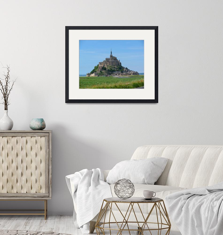 """Mont Saint Michel""  (2009) by elicay"
