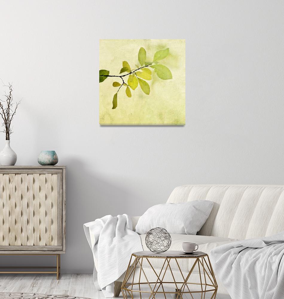 """green foliage series""  (2013) by Piri"