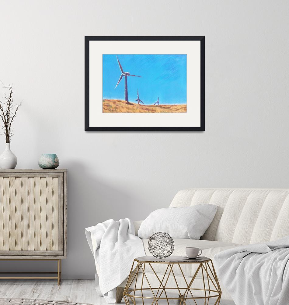"""""""Wind Turbines""""  (2009) by AbbieGroves"""