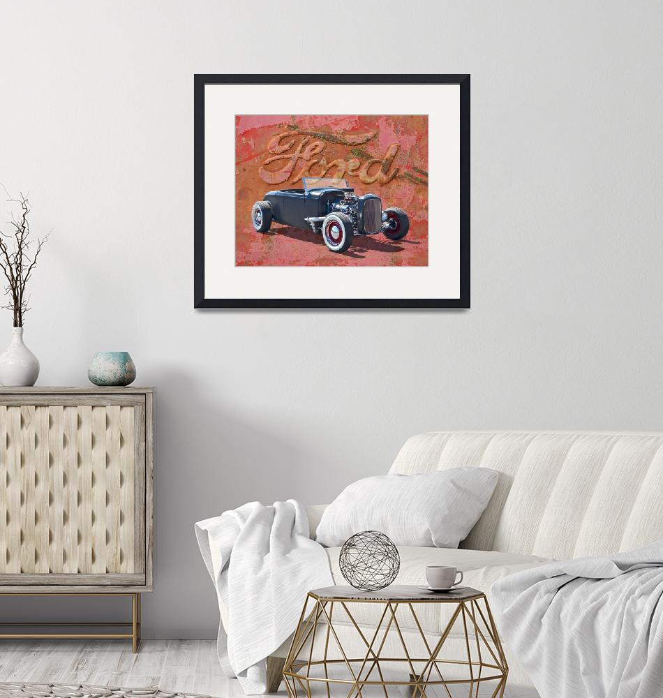 """""""1932 Ford Hot Rod Roadster""""  (2015) by minnron37"""