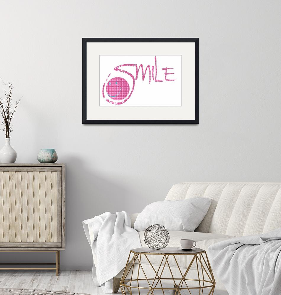 """""""smile pink dots inside""""  by lizmix"""