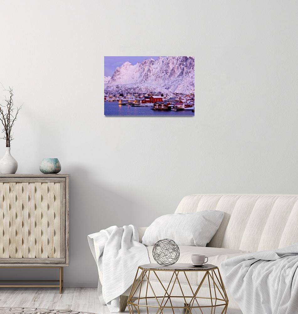 """Reine, Lofoten Islands""  by UnusualFocus"