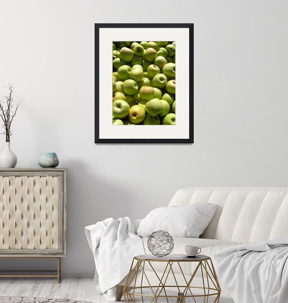 """""""GreenApples""""  (2007) by onthetable"""