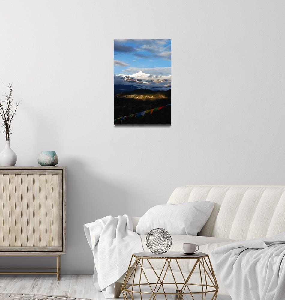 """""""Meili Snow Mountain Sunrise""""  (2008) by markamy"""