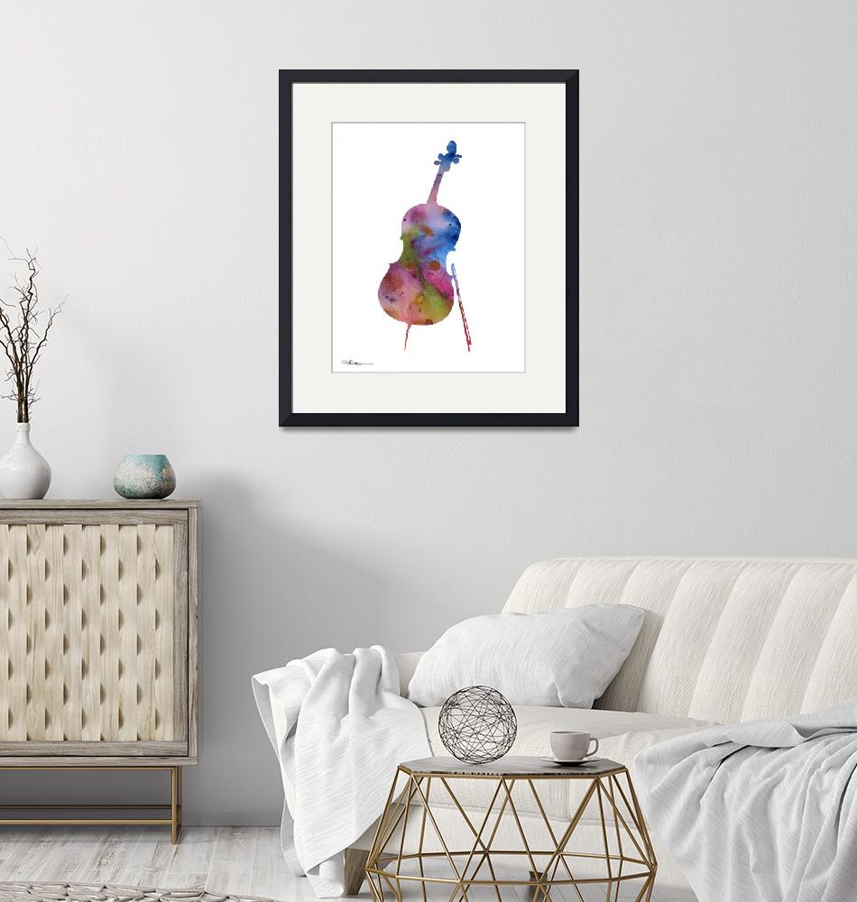 """Cello""  (2015) by k9artgallery"