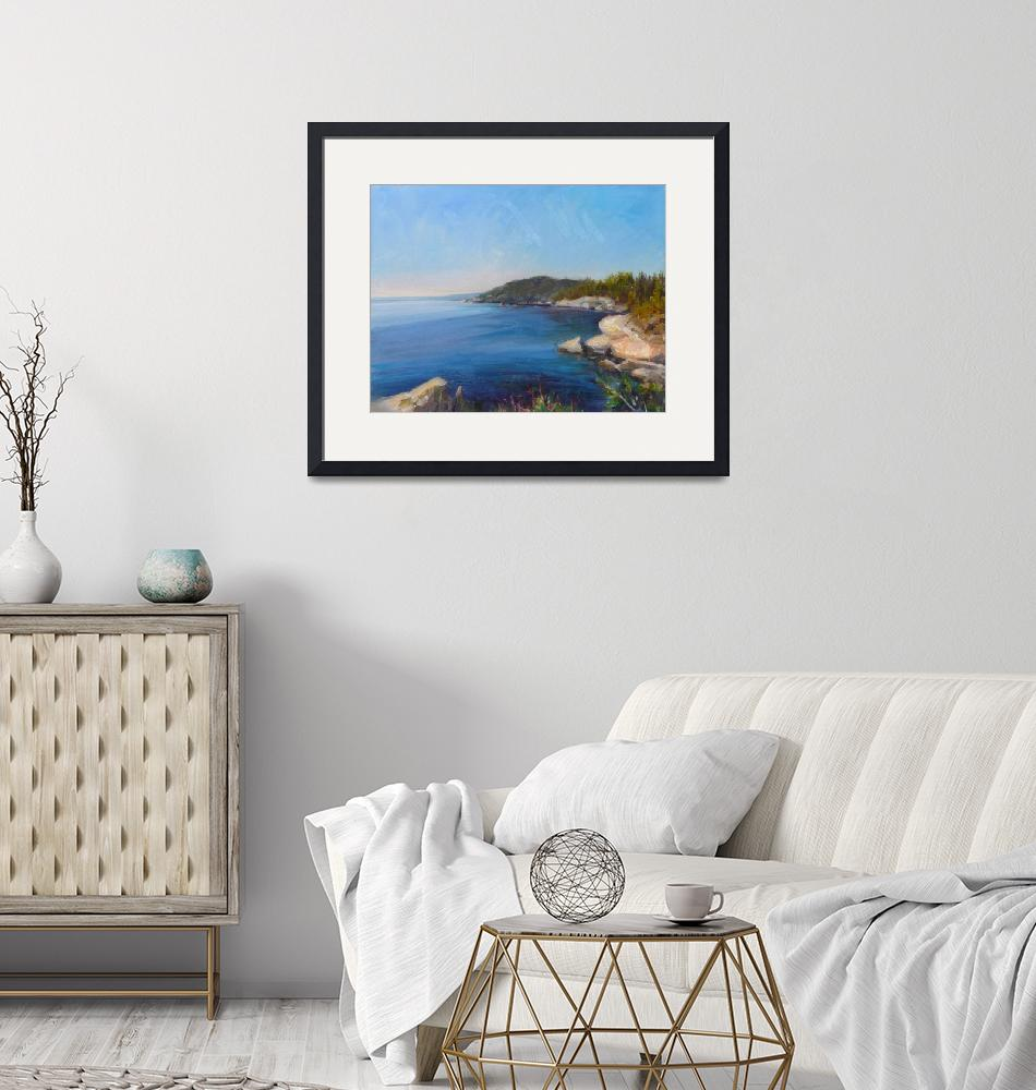 """""""State Park View"""" (2019) by JoySOlneyFineArt"""