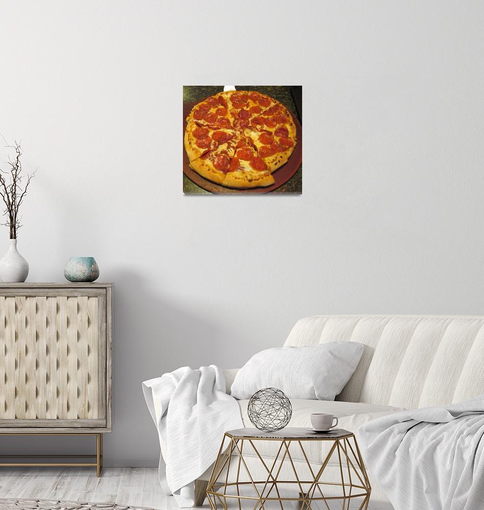 """""""pizza""""  (2010) by pjstevens"""