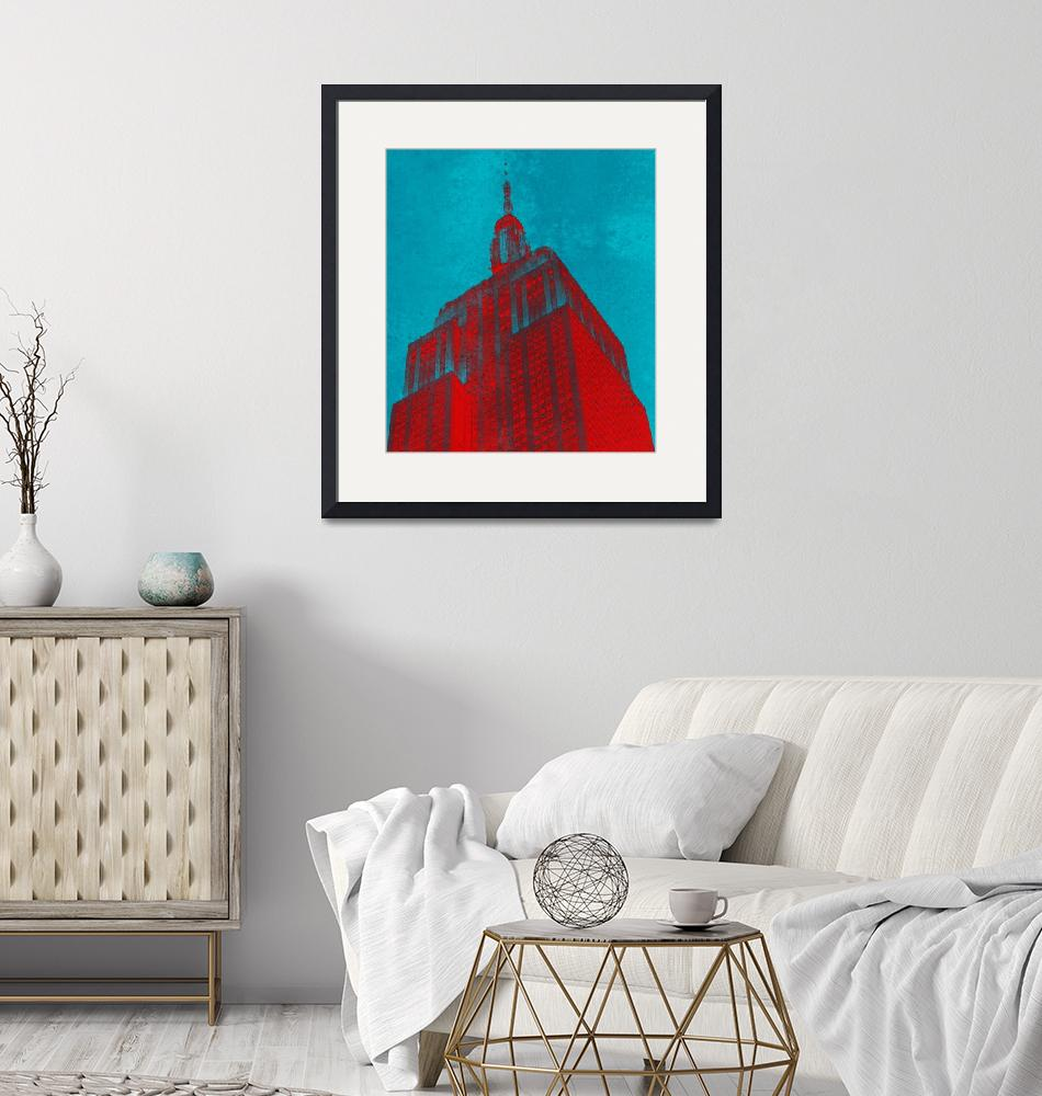 """""""Empire State Building""""  (2016) by Teju"""