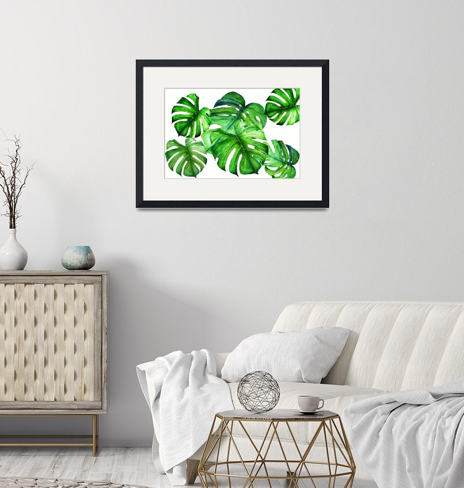 """""""Monstera III""""  (2018) by DreamyFaces"""