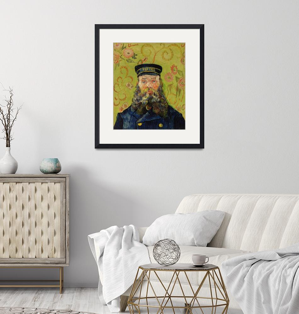 """The Postman by Van Gogh""  by FineArtClassics"