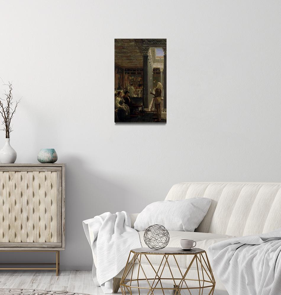 """Lawrence Alma-Tadema~A juggler""  by Old_master"