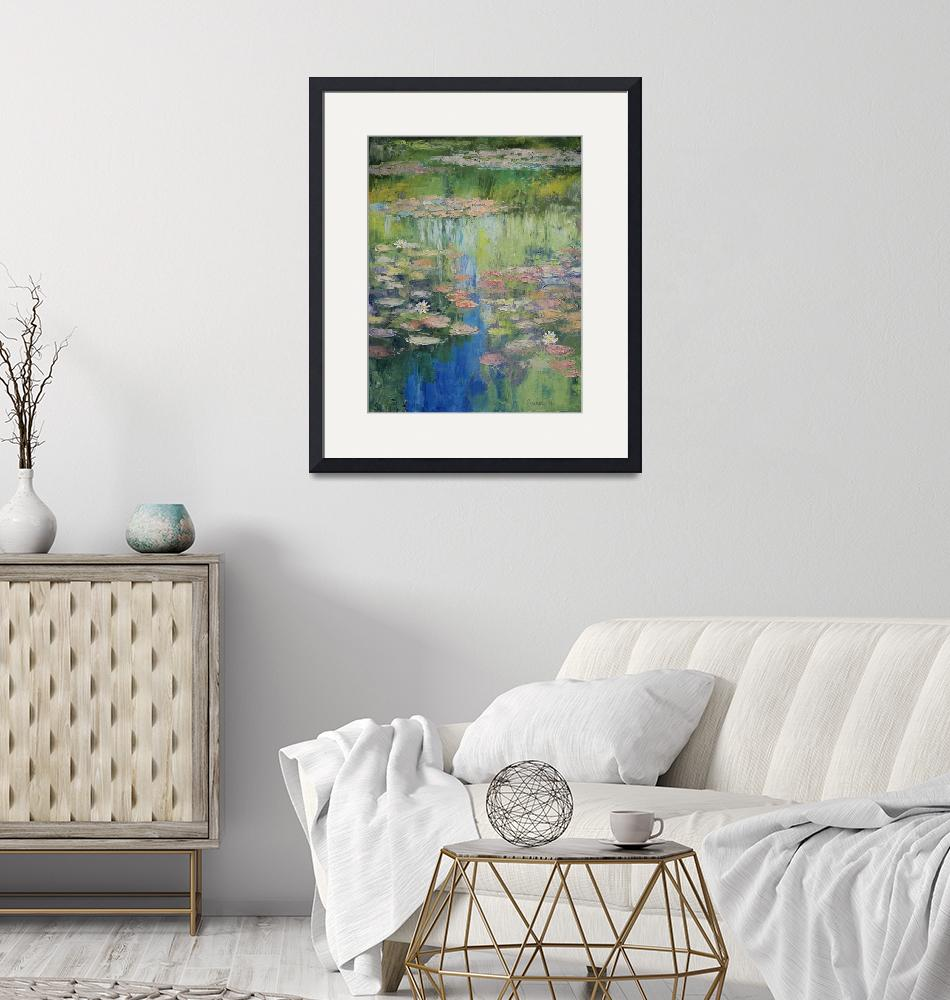 """""""Water Lily Pond"""" by creese"""