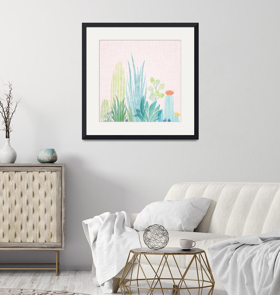 """""""Summer Succulents""""  (2018) by moderntropical"""