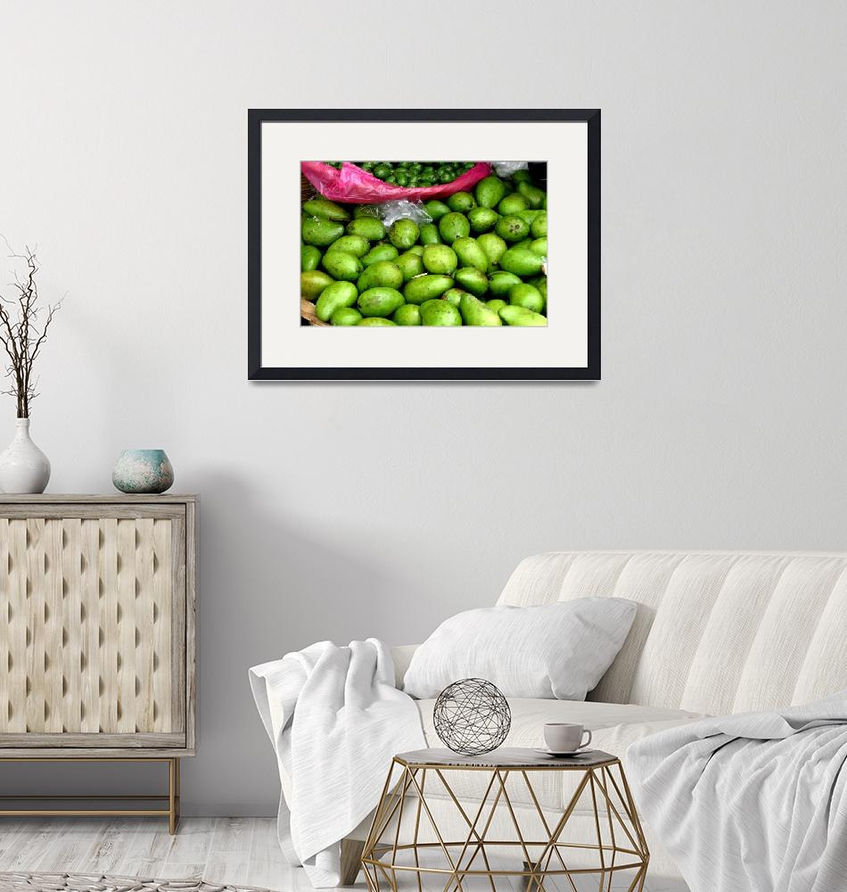 """""""Avocados in Market""""  by clifhaley"""