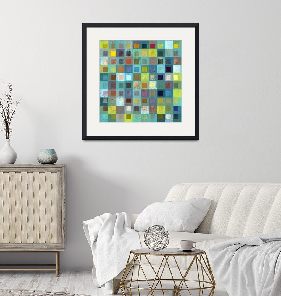 """""""Squares in Squares Two""""  (2017) by Michelle1991"""