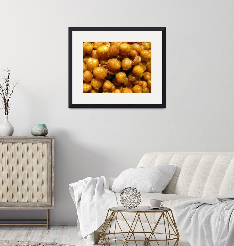 """""""Spicy Chick Peas""""  (2010) by LindieRacz"""