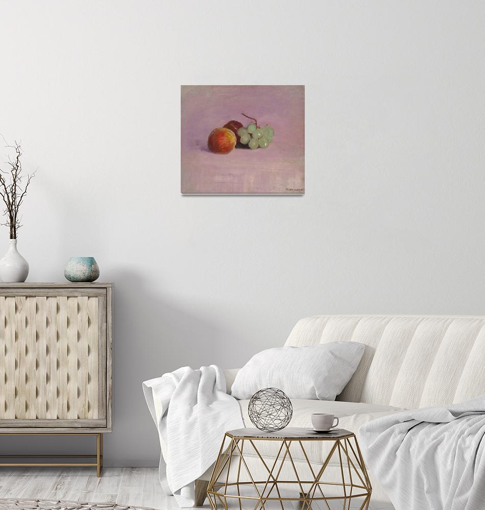 """""""Still Life with Fruit by Odilon Redon"""" by FineArtClassics"""