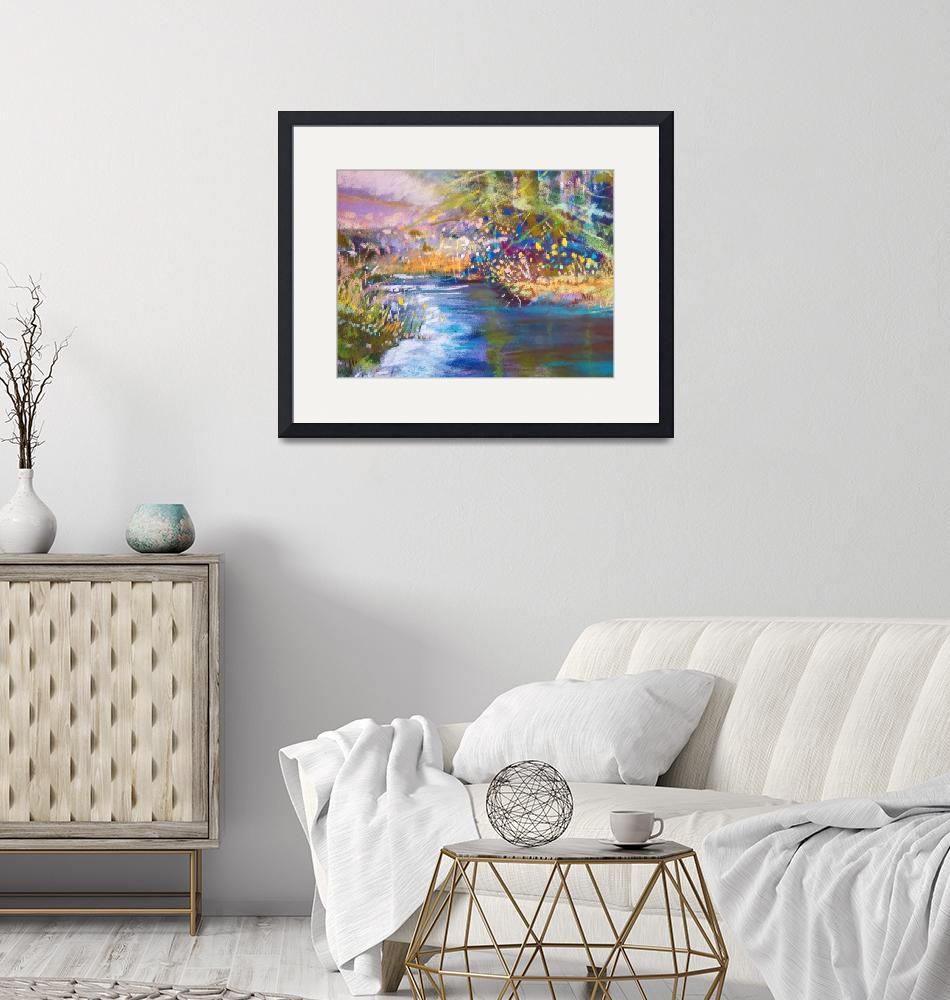 """""""At The Waters Edge""""  (2019) by TracyButler"""