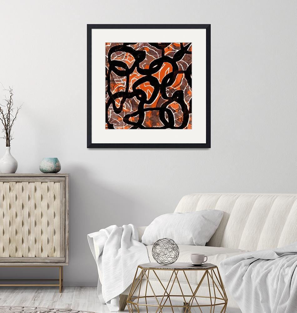 """""""Camouflage (in orange)"""" (2008) by piecesofrob"""