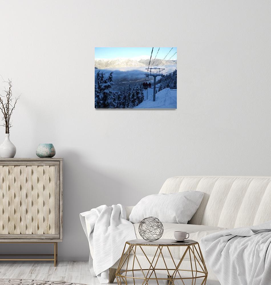 """Ski and Snowboard Heaven!""  (2008) by Whistlerphotogal"