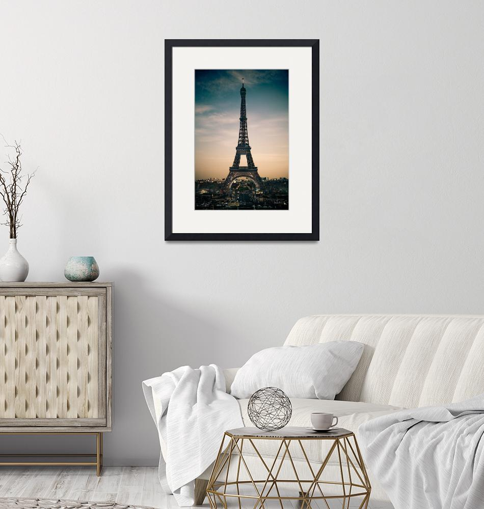 """Eiffel Tower""  (2009) by urbansafari"