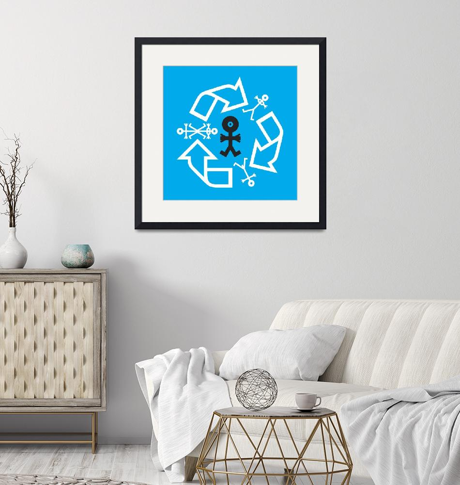 """""""Recycled Family Icon""""  by thisisnotme"""