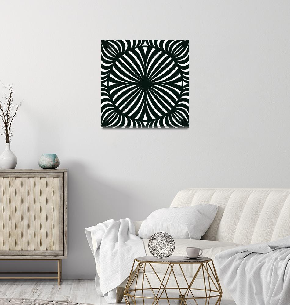 """""""Hypno black white""""  by Adorehandcrafted"""