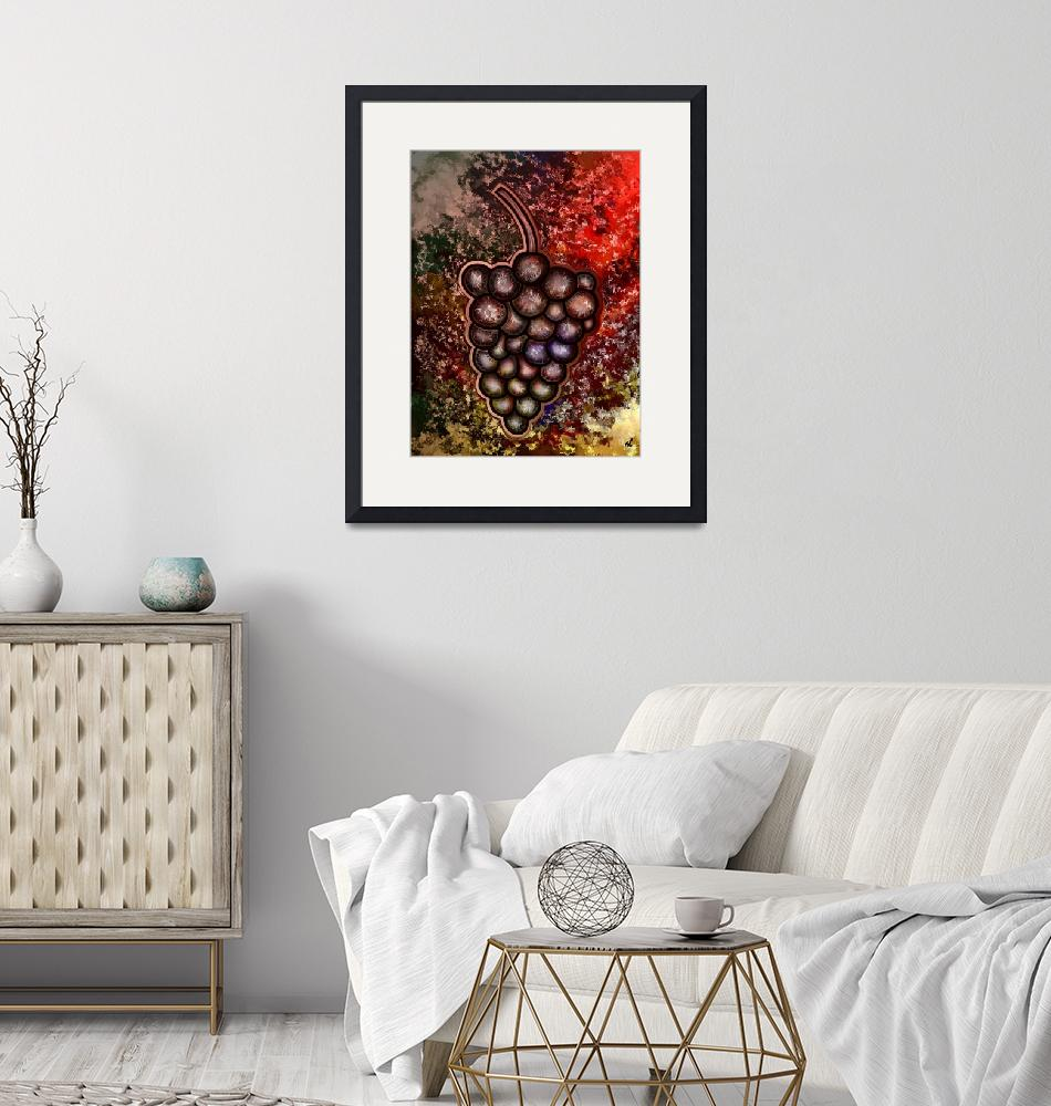 """""""Grapes""""  (2010) by RT3D"""
