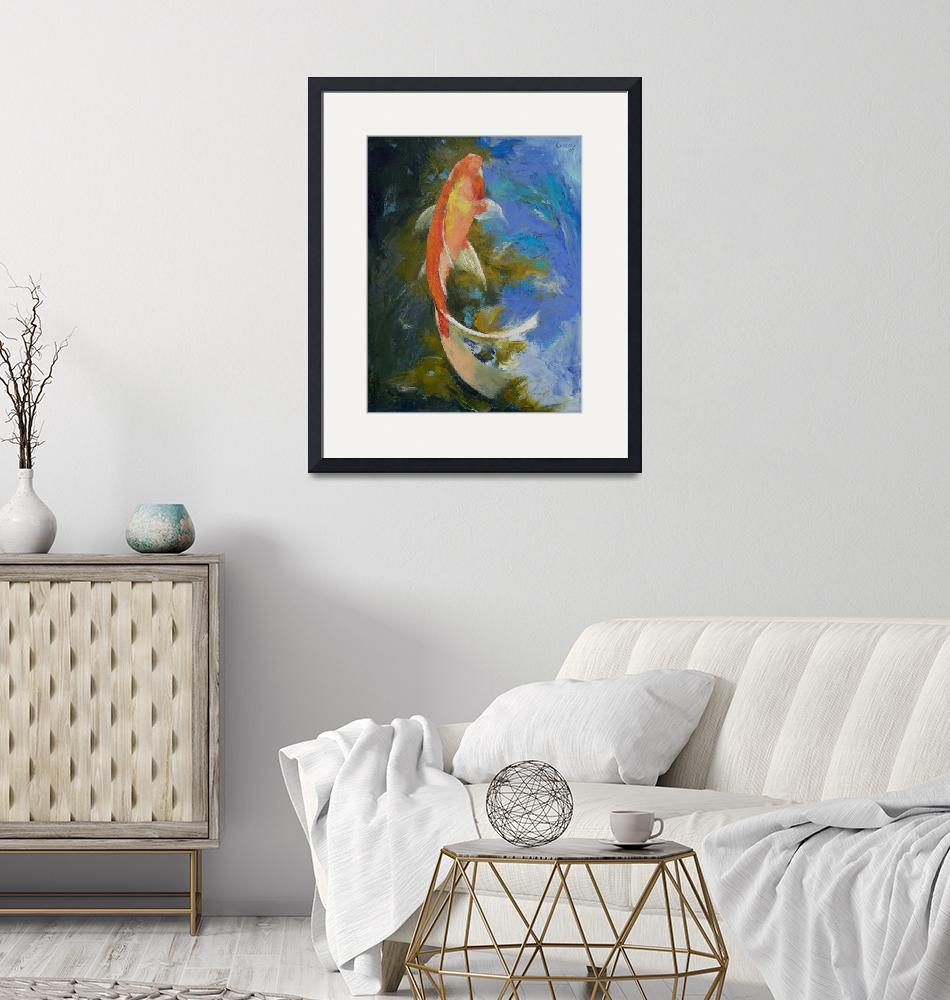 """""""Butterfly Koi Painting""""  by creese"""