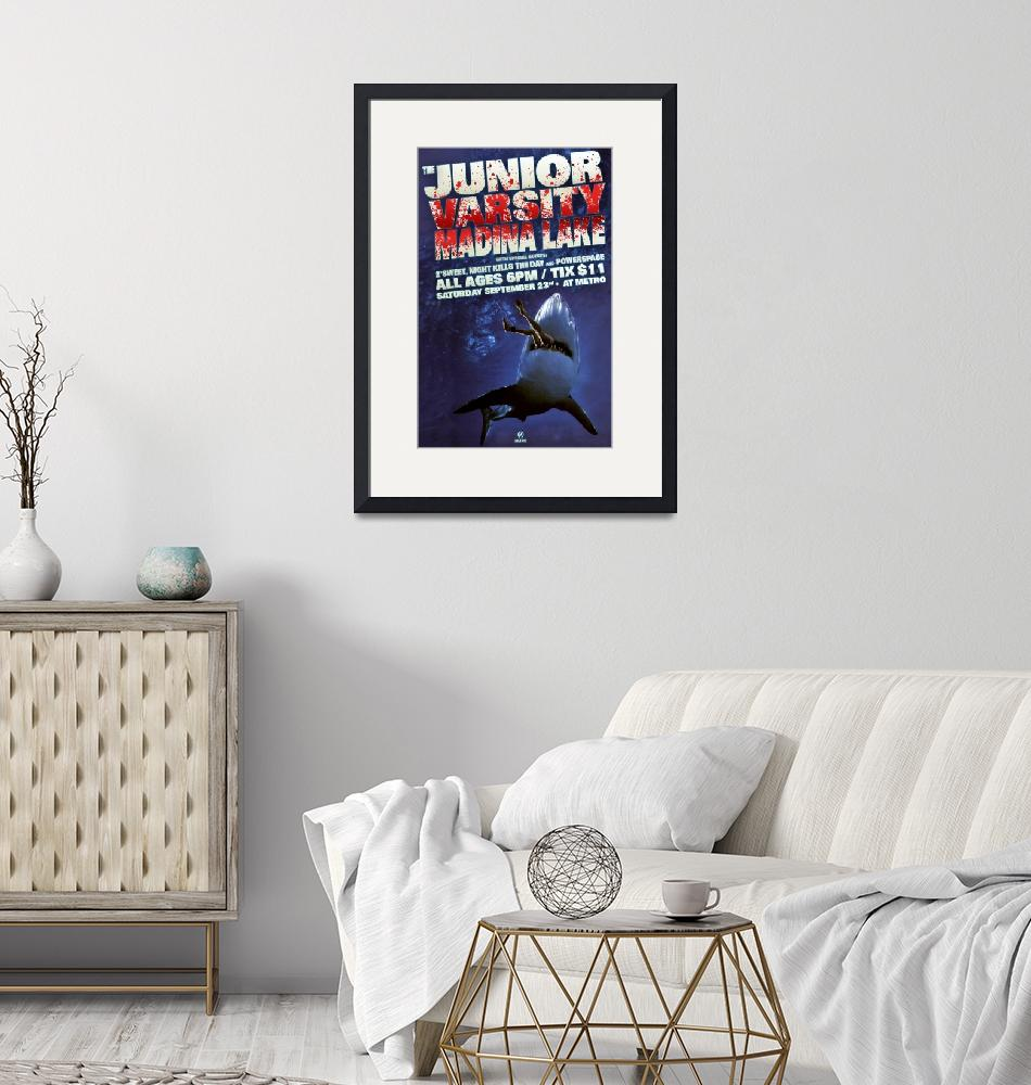 """""""The Junior Varsity at Metro Gig Poster""""  by doublej"""