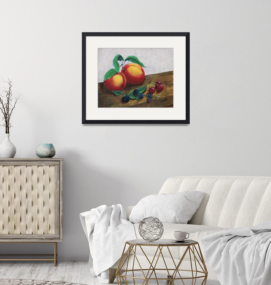"""""""Simply Fruit""""  (2018) by EMBlairArtwork"""