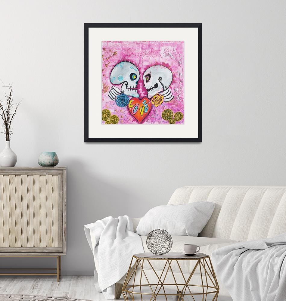 """Love Story""  (2015) by ArtPrints"