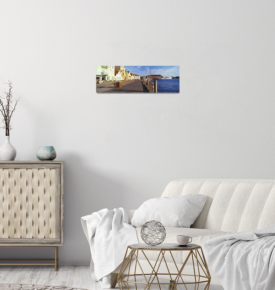 """Harbor Sonderborg Denmark""  by Panoramic_Images"