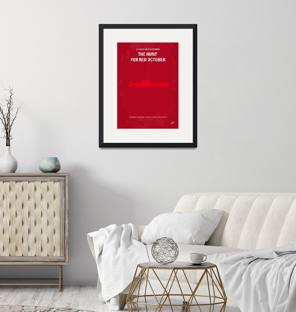 """""""No198 My The Hunt for Red October minimal movie po"""" by Chungkong"""