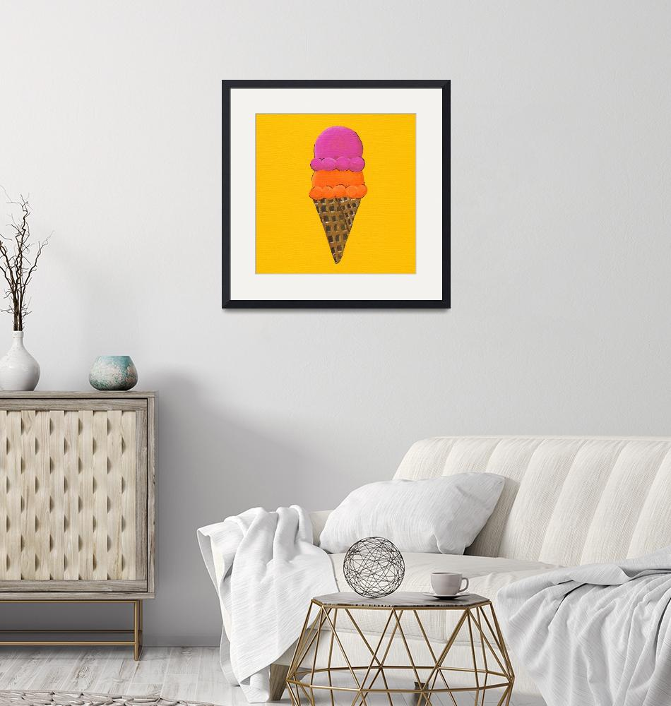 """""""I Is For Ice Cream""""  (2010) by LibbyJohnston"""