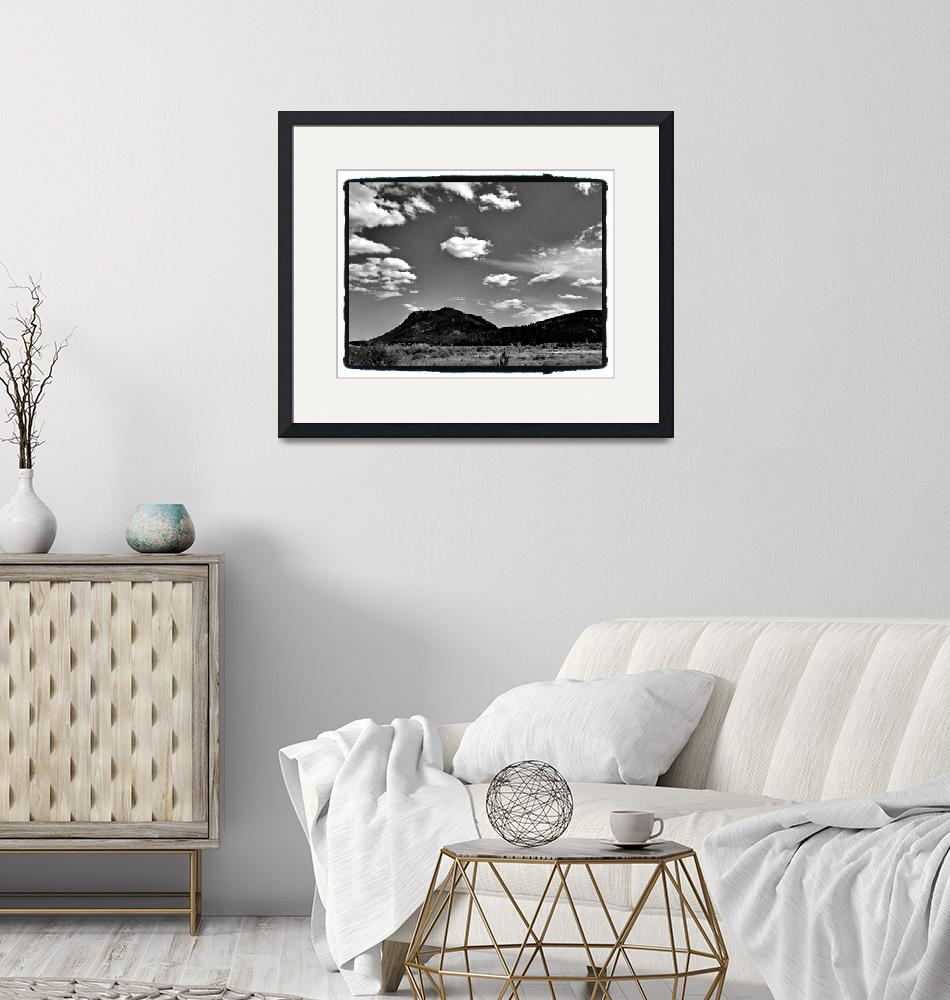 """""""Black and white Rockies""""  (2011) by colgdrew"""