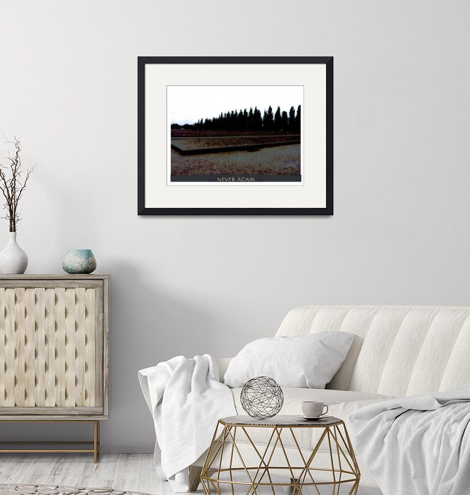 """""""empty places trees poster""""  by artnet1"""
