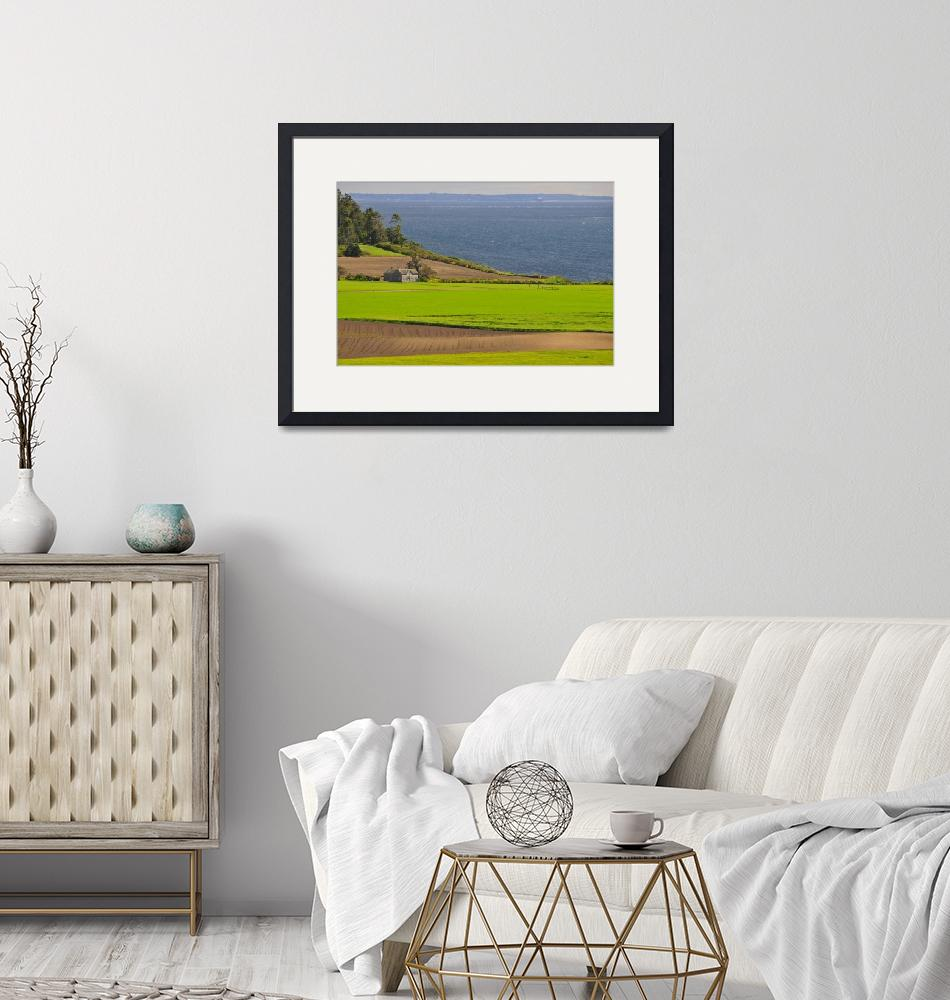 """""""View of Ferry House at Ebey"""